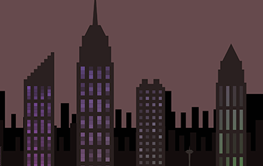 skyline banner