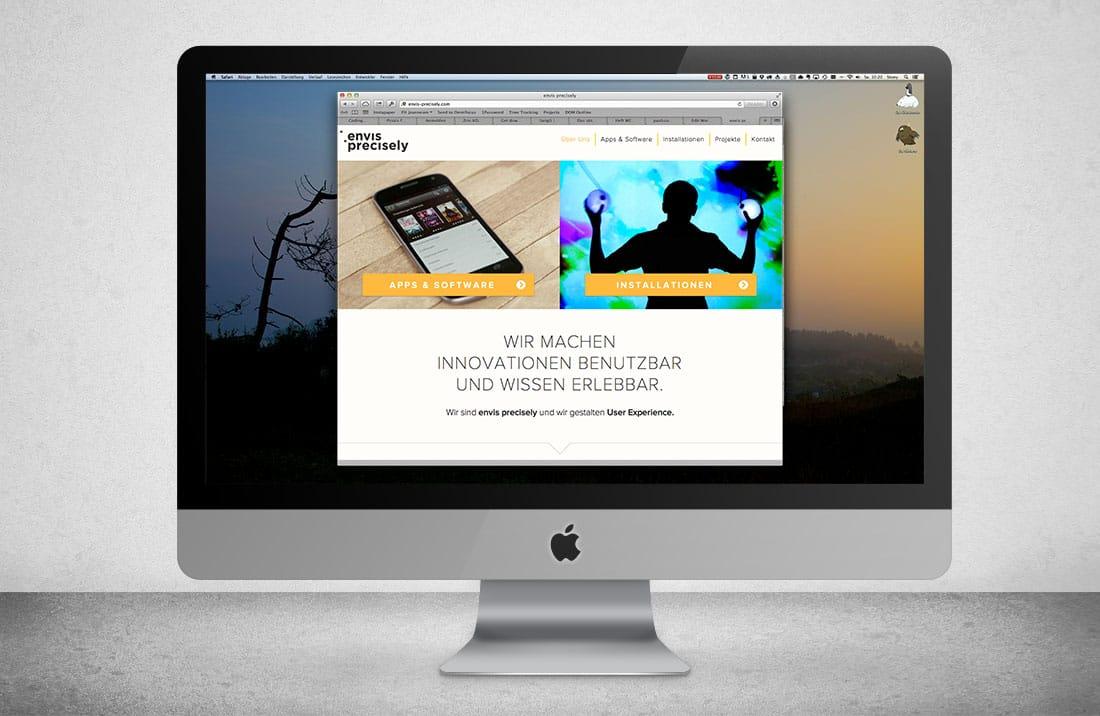 envis precisely website