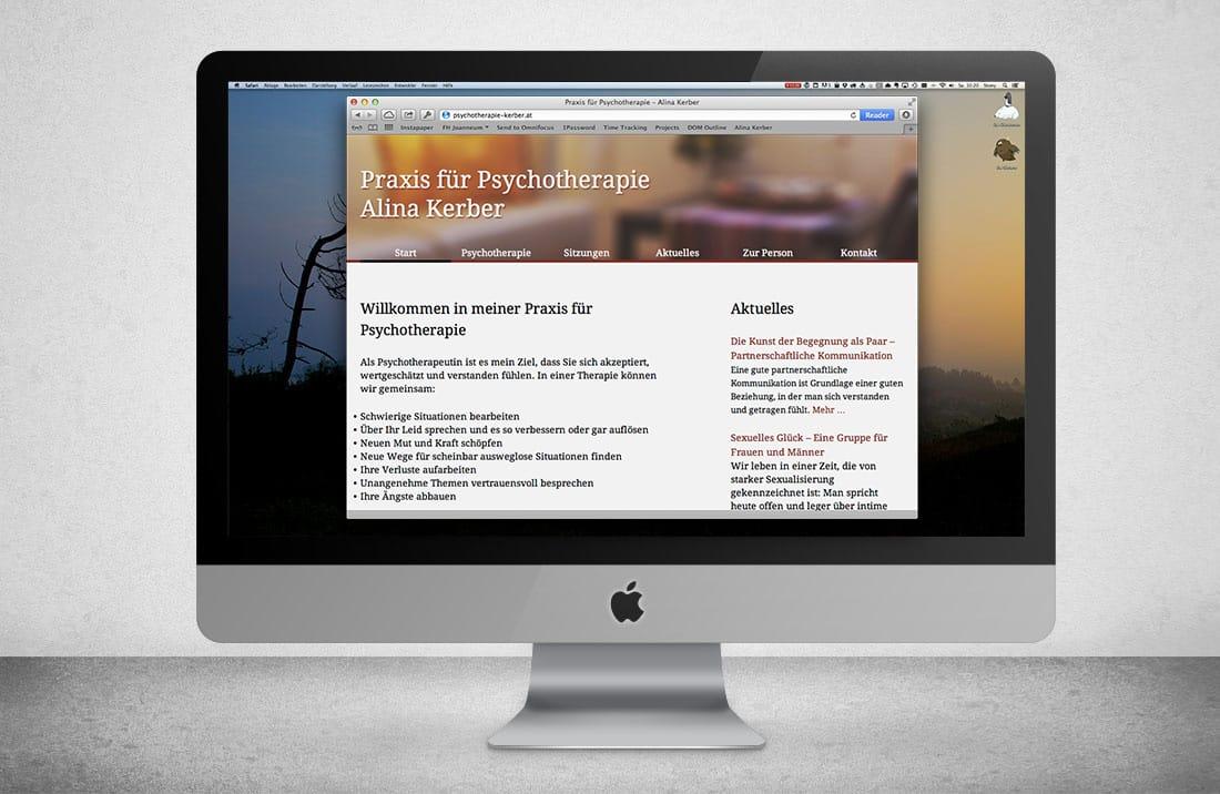 Psychotherapie Kerber Frontpage