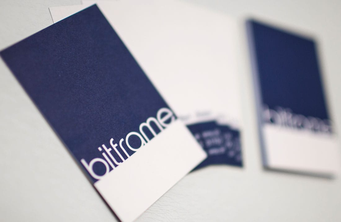 bitframe business cards